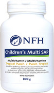 NFH Children's Multi SAP Tropical Punch 300 Grams