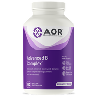 AOR Advanced B Complex 180 Veg Capsules Cautions