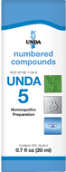 Unda 5 - 20 ml (0.7 fl oz)