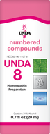 Unda 8 - 20 ml (0.7 fl oz)