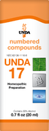 Unda 17 - 20 ml (0.7 fl oz)