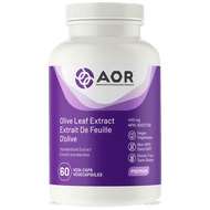 AOR Olive Leaf Extract 400 mg 60 Veg Capsules