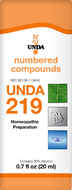 Unda 219 - 20 ml (0.7 fl oz)