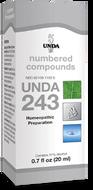 Unda 243 - 20 ml (0.7 fl oz)