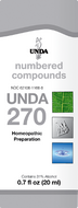 Unda 270 - 20 ml (0.7 fl oz)