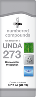 Unda 273 - 20 ml (0.7 fl oz)