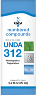 Unda 312 - 20 ml (0.7 fl oz)