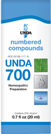 Unda 700 - 20 ml (0.7 fl oz)