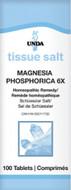 Unda Scheussler Tissue Salt Magnesia Phosphorica 6X - 100 Tablets