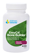 Platinum Naturals EasyCal bone builder 240 Softgels