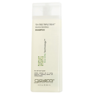 Giovanni Hair Care Tea Tree Triple Treat Shampoo 250 ml (8.5 oz)