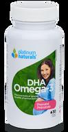 Platinum Naturals Prenatal Omega 3 DHA 30 Softgels