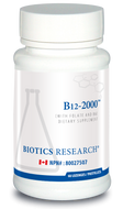 Biotics Research B12 2000 - 60 Lozenges