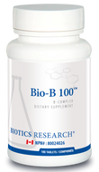 Biotics Research Bio B 100 ( Yeast Free ) 180 Tablets