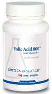 Biotics Research Folic Acid 800 - 180 Tablets