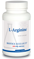 Biotics Research L Arginine 100 Capsules