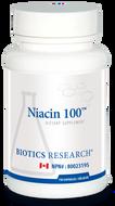 Biotics Research Niacin 100 - 150 Capsules