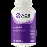 AOR Arginine 600 Mg 180 Veg Capsules