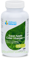 Platinum Naturals Super Apple Cider Diet 180 Capsules