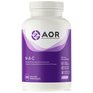 AOR NAC 500 mg 120 Veg Capsules