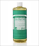 Dr Bronner's Organic Almond Pure Castile Liquid Soap 32 Oz ( 944 ml )