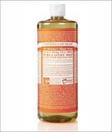 Dr Bronner's Organic Tea Tree Pure Castile Liquid Soap 32 Oz ( 944 ml )