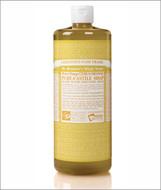Dr Bronner's Organic Citrus Pure Castile Liquid Soap 32 Oz ( 944 ml )