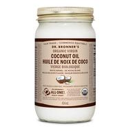 Dr Bronner's Organic White Virgin Coconut Oil 14 Oz (414 ml)