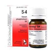Dr Reckeweg S4 - Ferrum Phosphoricum 6X - 200 Tablets (10066)