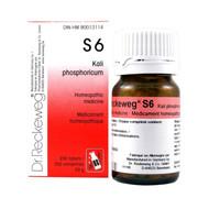 Dr Reckeweg S6 - Kali Phosphoricum 12X - 200 Tablets (10073)