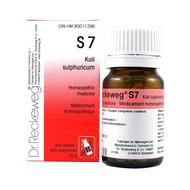 Dr Reckeweg S7 - Kali Sulphuricum 3X - 200 Tablets (10074)