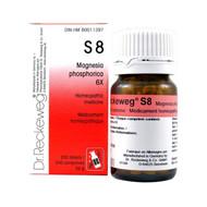 Dr Reckeweg S8 - Magnesia Phosphorica 6X - 200 Tablets (10078)