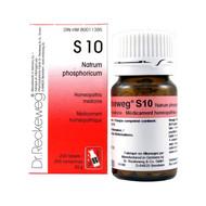 Dr Reckeweg S10 - Natrum Phosphoricum 3X - 200 Tablets (10083)