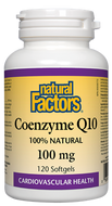 Natural Factors Coenzyme Q10 - 100 Mg 120 Softgels