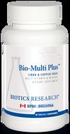 Biotics Research Bio Multi Plus Iron & Copper Free 90 Tablets
