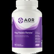 AOR Magnesium Malate Renew 793 Mg 120 Veg Capsules