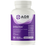 AOR Ortho Iron 358 mg - 30 Veg Capsules