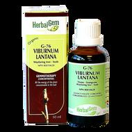 HerbalGem Gemmotherapy G76 Viburnum lantana 50 ml
