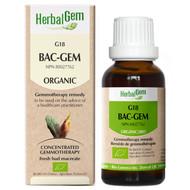 HerbalGem Gemmotherapy Complex G18 Bac Gem 15 Ml