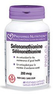 Preferred Nutrition Selenomethionine 60 Veg Capsules