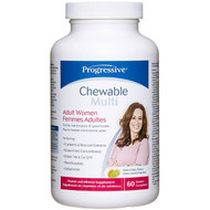 Progressive Adult Women Chewable Multivitamin 60 Tablets