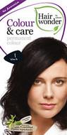 Hair Wonder Colour & Care Permanent Hair Colour Black 1