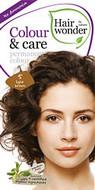 Hair Wonder Colour & Care Permanent Hair Colour Light Brown 5