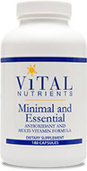 Vital Nutrients Minimal and Essential 90 Capsules