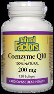 Natural Factors Coenzyme Q10 200 mg