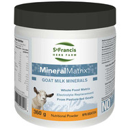 St Francis Mineral Matrix Pure Dehydrated Goat Whey 360 Grams (13343)