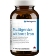 Metagenics Multigenics without Iron 90 Tablets