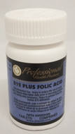 Professional Health Products B12 Plus Folic Acid 240 Tablets (13755)