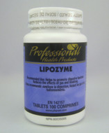 Professional Health Products Lipozyme 100 Tablets (13779)