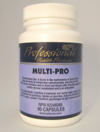 Professional Health Products Multipro 190 Capsules (11608)